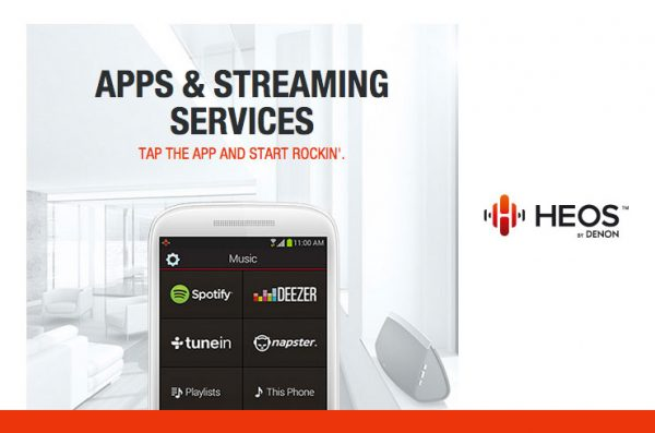 HEOS – Apps & Streaming Services