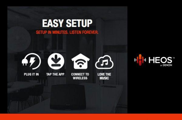 HEOS – Easy Setup